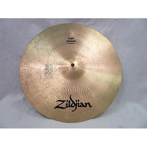 Zildjian 16in Thin Crash Cymbal