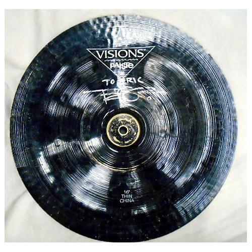 Paiste 16in Visions Thin China Cymbal-thumbnail