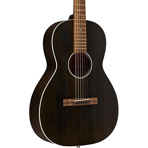 Martin 17 Series 00-17SE Grand Concert Acoustic-Electric Guitar Black Smoke