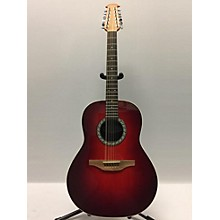 Ovation 1751 Standard Balladeer 12 String Acoustic Electric Guitar