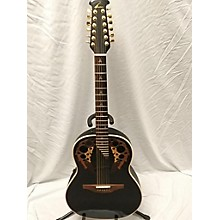 Ovation 1758 ELITE 12 String Acoustic Electric Guitar