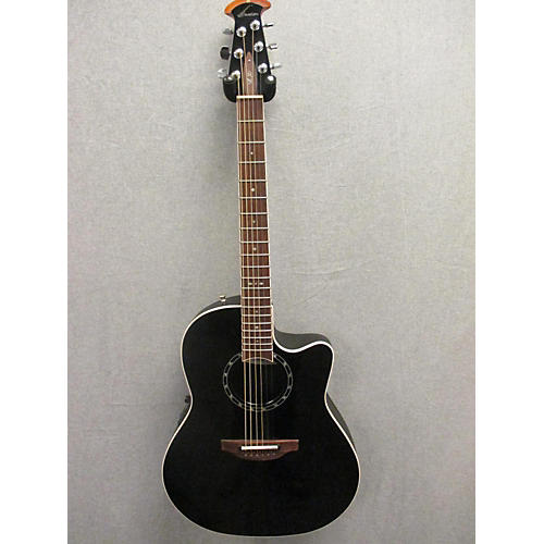 Ovation 1771LX Black Acoustic Electric Guitar