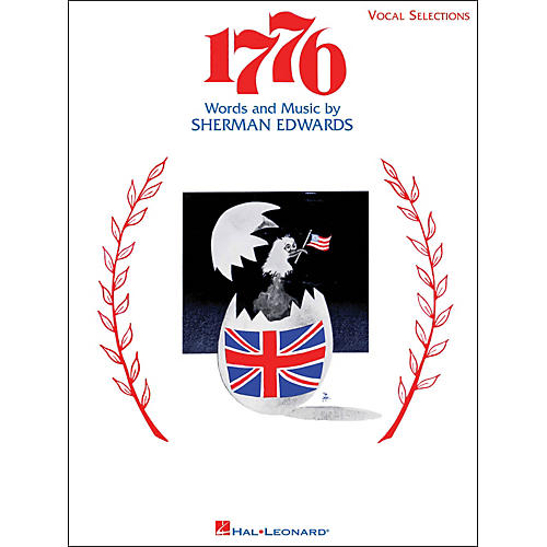 Hal Leonard 1776 Vocal Selections arranged for piano, vocal, and guitar (P/V/G)