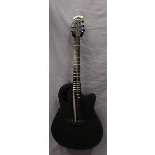 Ovation 1778TX-5 Elite Acoustic Electric Guitar Black