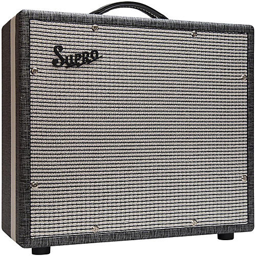 Supro 1791 Black Magick 1x15 Extension Cabinet-thumbnail