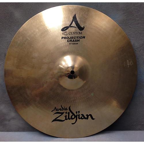Zildjian 17in A Custom Projection Crash Cymbal  37