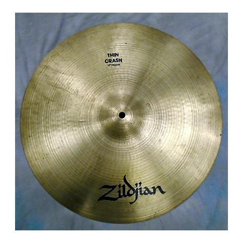 Zildjian 17in A Series Thin Crash Cymbal
