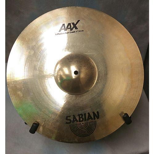 Sabian 17in AAX Xplosion Fast Crash Cymbal-thumbnail