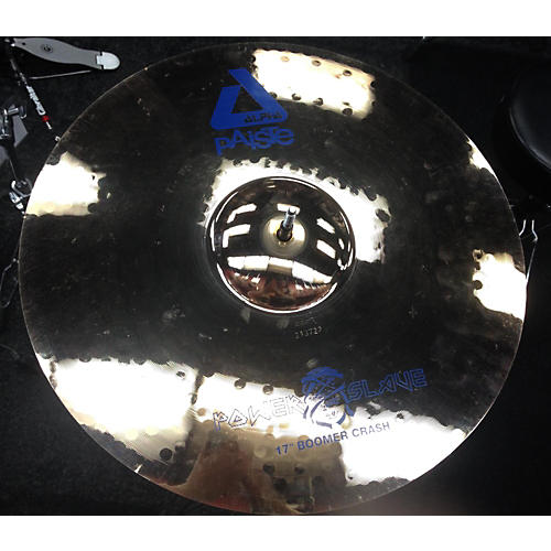 Paiste 17in Alpha Power Slave Boomer Crash Cymbal-thumbnail