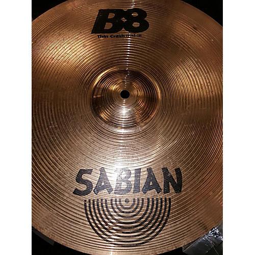 Sabian 17in B8 Thin Crash Cymbal