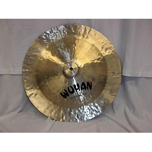 Pre-owned Wuhan 17 inch China Cymbal by Wuhan