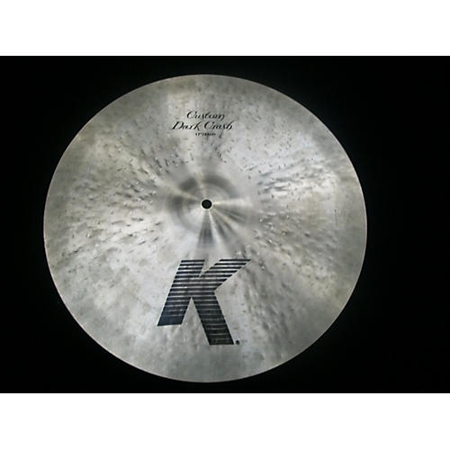 Zildjian 17in K Custom Dark Crash Cymbal