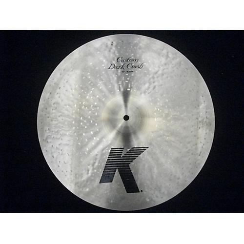 Zildjian 17in K Custom Dark Crash Cymbal-thumbnail