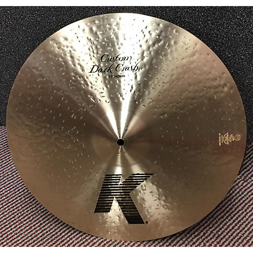 Zildjian 17in K Custom Dark Crash Cymbal-thumbnail