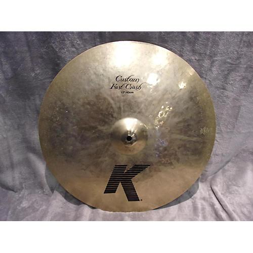 Zildjian 17in K Custom Fast Crash Cymbal-thumbnail