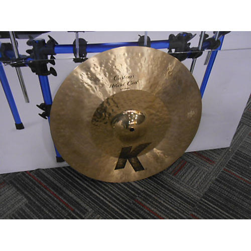 Zildjian 17in K Custom Hybrid Crash Cymbal-thumbnail