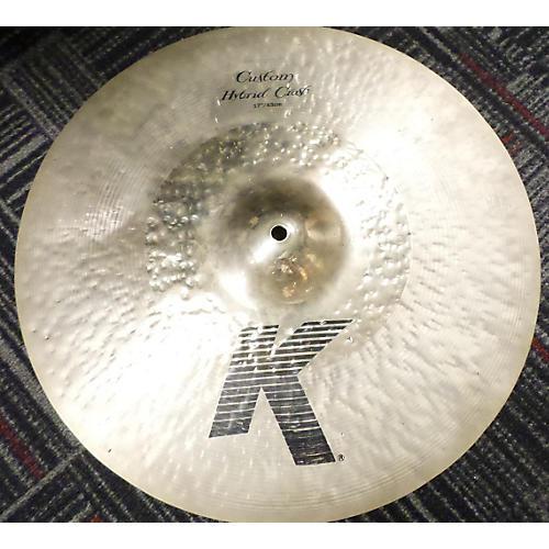 Zildjian 17in K Custom Hybrid Crash Cymbal-thumbnail