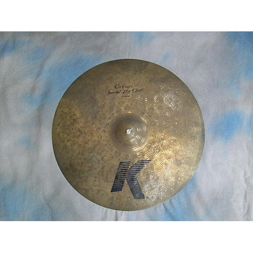 Zildjian 17in K Custom Special Dark Crash Cymbal-thumbnail