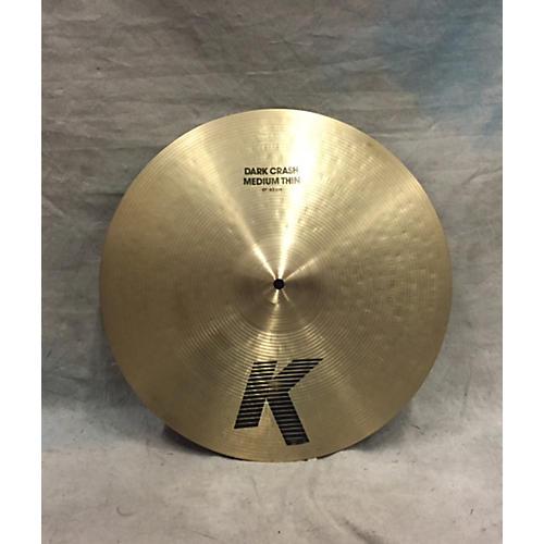 Zildjian 17in K Dark Crash Medium Thin Cymbal