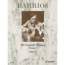 Schott 18 Concert Pieces for Solo Guitar - Volume 1 Schott Series