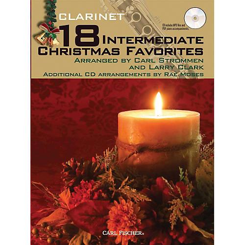 Carl Fischer 18 Intermediate Christmas Favorites - Clarinet Book/CD-thumbnail