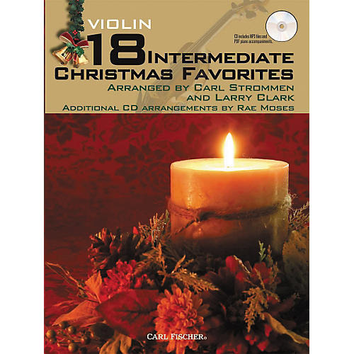 Carl Fischer 18 Intermediate Christmas Favorites - Violin Book/CD-thumbnail