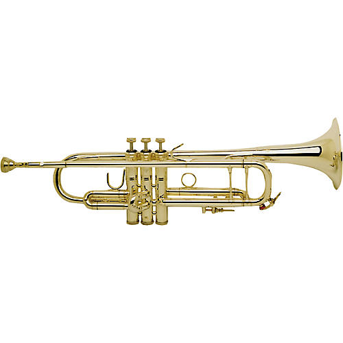 Bach 180-43 Stradivarius Series Bb Trumpet  18043G Lacquer, Gold Brass Bell