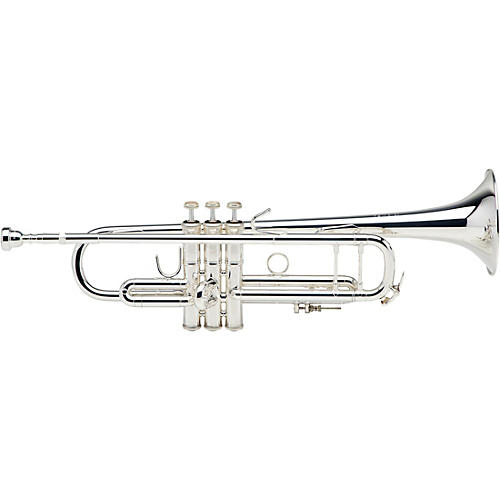 Bach 180S37 Stradivarius Series Bb Trumpet Silver Yellow Brass Bell-thumbnail