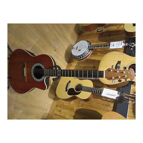 Ovation 186 Custom Balladeer Acoustic Electric Guitar-thumbnail