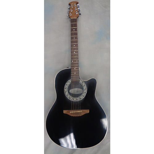 Ovation 1861AX-5 Standard Balladeer Acoustic Electric Guitar-thumbnail