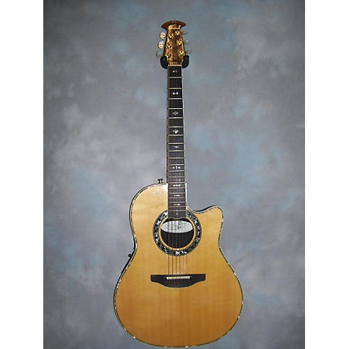 Ovation 1869 Custom Legend Natural Acoustic Electric Guitar-thumbnail