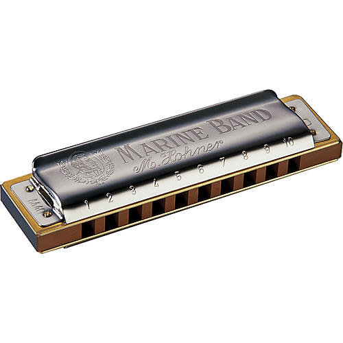 Hohner 1896 Marine Band Low Tuned Harmonica