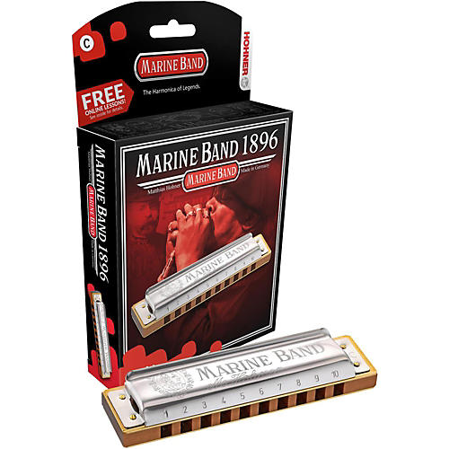 Hohner 1896 Marine Band Natural Minor Harmonica