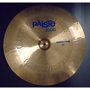 Paiste 18in 2000 SERIES CHINA Cymbal