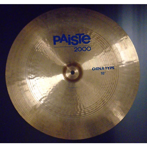 Paiste 18in 2000 SERIES CHINA Cymbal-thumbnail