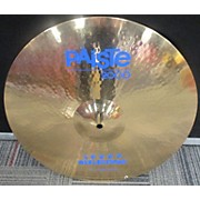 Paiste 18in 2000 Sound Reflection Power Crash Cymbal