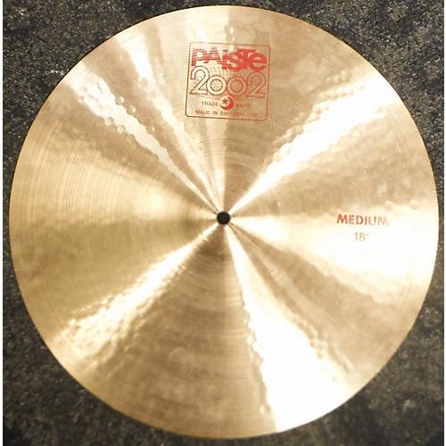 Paiste 18in 2002 Crash Cymbal-thumbnail