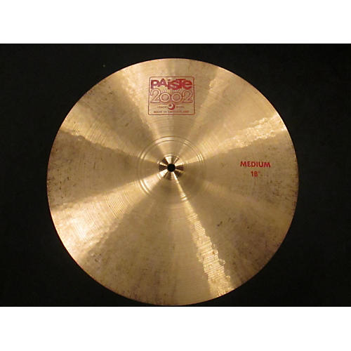 Paiste 18in 2002 Medium Crash Cymbal-thumbnail