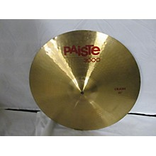 Paiste 18in 3000 SERIES CRASH Cymbal