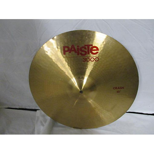 used paiste 18in 3000 series crash cymbal 38 guitar center. Black Bedroom Furniture Sets. Home Design Ideas