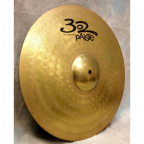 Paiste 18in 302 Crash Ride Cymbal-thumbnail