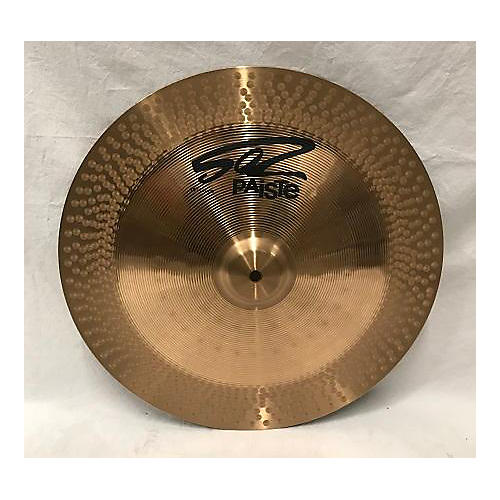 used paiste 18in 502 china cymbal 38 guitar center. Black Bedroom Furniture Sets. Home Design Ideas