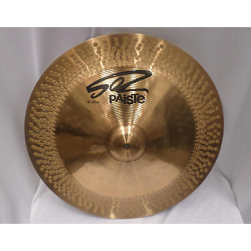 used paiste 18in 502 china cymbal guitar center. Black Bedroom Furniture Sets. Home Design Ideas