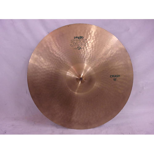 Paiste 18in 505 Crash Cymbal