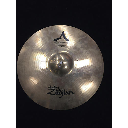 Zildjian 18in A Custom Fast Crash Cymbal-thumbnail