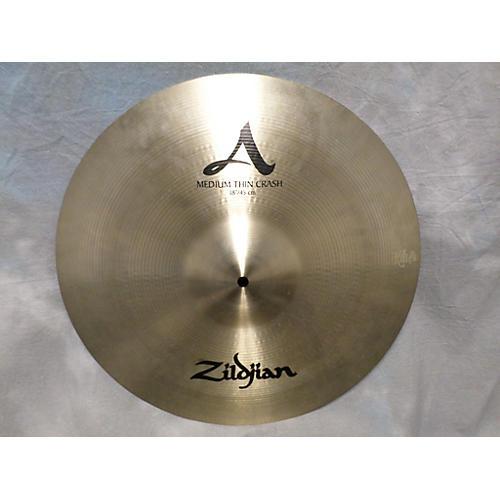 Zildjian 18in A Series Medium Thin Crash Cymbal-thumbnail