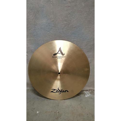 Zildjian 18in A Series Thin Crash Cymbal-thumbnail