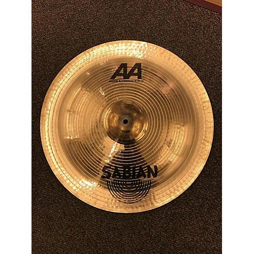 Sabian 18in AA Metal X Chinese Cymbal