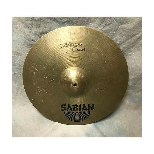 Sabian 18in AA Rock Crash Brilliant Cymbal