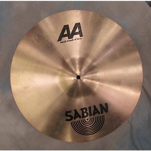 Sabian 18in AA Rock Crash Cymbal